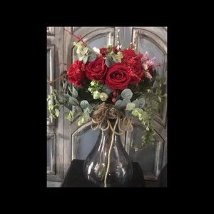 New Beautiful bouquet 💐 red roses 🌹